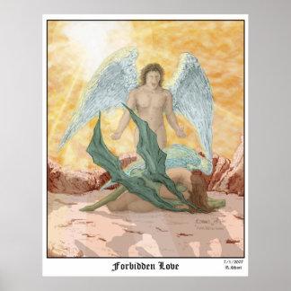 Forbidden Love color Print