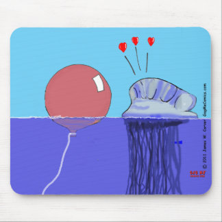 """Forbidden Love"" Mouse Pad"