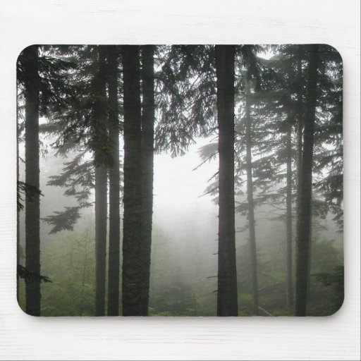 FORBIDDEN MISTS MOUSE PAD