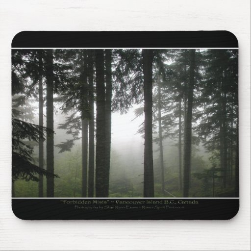 """""""FORBIDDEN MISTS"""" Mouse Pad"""