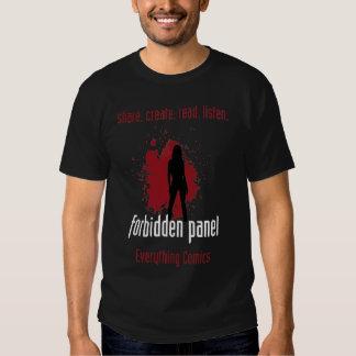 Forbidden Panel Logo Shirt