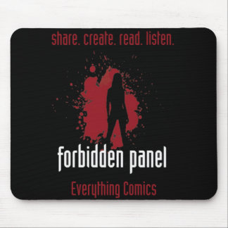 Forbidden Panel Mousepad