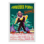 Forbidden Planet - Classic Movie Poster
