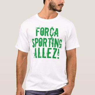 """Força Sporting Allez"" T-Shirt"