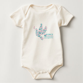 FORCE Dove and logo Baby Bodysuit