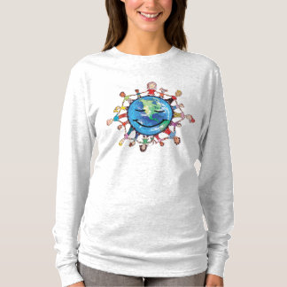 Force Field for Good Long sleeved women's T-shirt