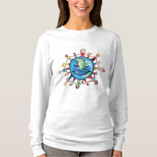 Force Field for Good Women's Long sleeved T-shirt