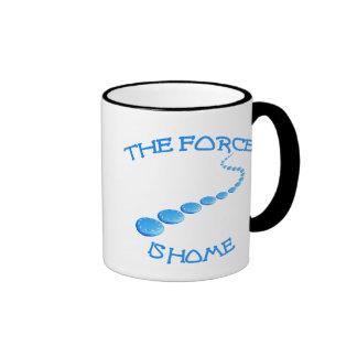 Force is Home Frisbee Coffee Mug