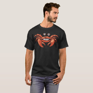Forced Smiling Crab Summer T-Shirt