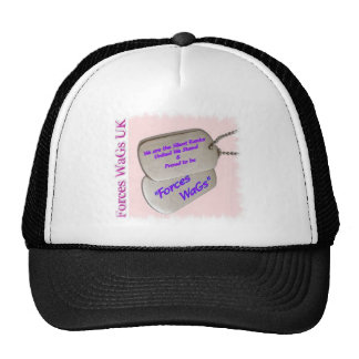 Forces WaGs UK Cap