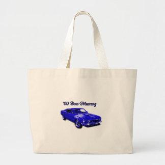Ford:  Boss Mustang Tote Bag