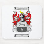 Ford (English) Coat of Arms Mousepad