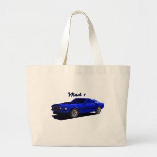 Ford:  Mach 1 Mustang Jumbo Tote Bag