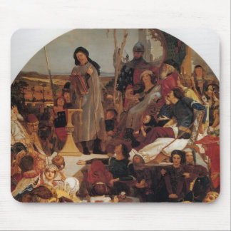 Ford Madox Brown- Chaucer at Court of Edward III Mousepads