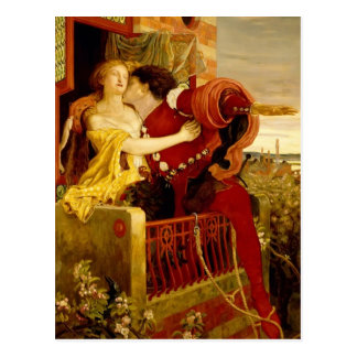 Ford Madox Brown: Romeo and Juliet Postcard