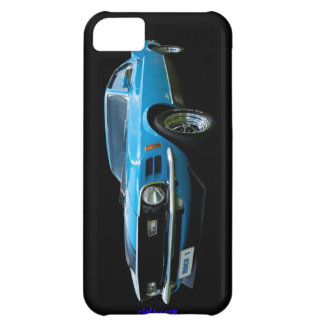Ford Mustang Blue Mach 1 iPhone 5 case