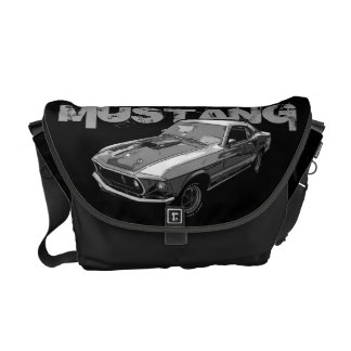 Ford Mustang monocrome Commuter Bags