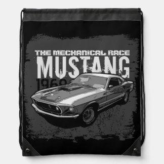 Ford Mustang monocrome Rucksack