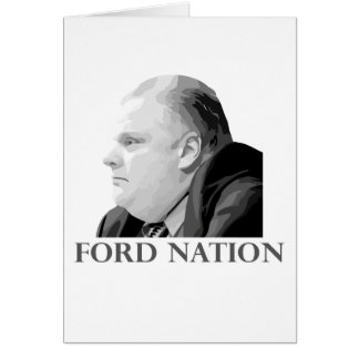 Ford Nation Greeting Card