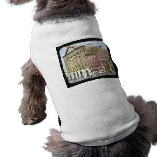 Ford's Theatre Abraham Lincoln Magic Lantern Slide Doggie T Shirt