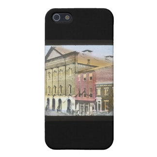 Ford's Theatre Abraham Lincoln Magic Lantern Slide iPhone 5 Covers