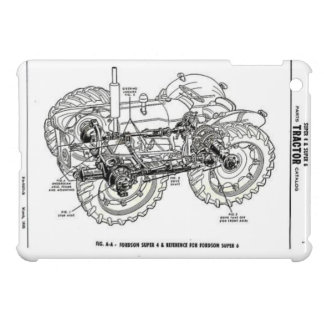 Fordson Tractor Classic Hiking Duck iPad Mini Case