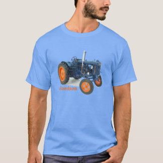 Fordson Tractor Classic Vintage Hiking Duck T-Shirt