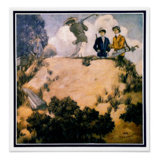 Fore - 1912 Golf Print