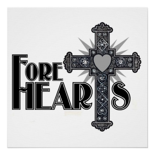 FORE HEARTS Canvas Print