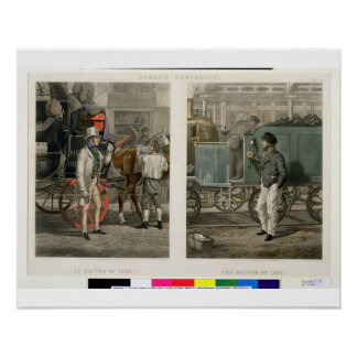 Fore s Contrasts The Driver of 1832 The Driver o Poster