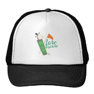 Fore Score Mesh Hat