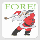 Fore Square Sticker