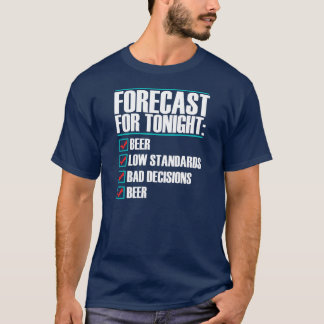 Forecast for tonight Tee