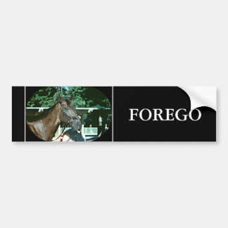 Forego Racehorse 1977 Bumper Sticker