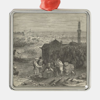 Foreign Corn Ports, Alexandria Christmas Ornament