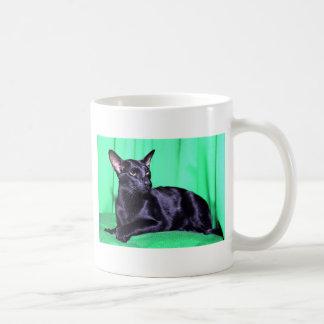 Foreign Oriental, black Coffee Mug