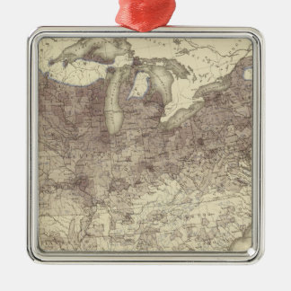 Foreign Parentage Proportion 1870 Christmas Ornament