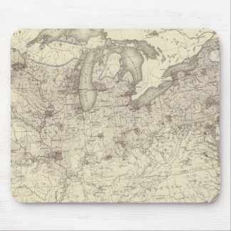 Foreign Population 1870 Mouse Pad