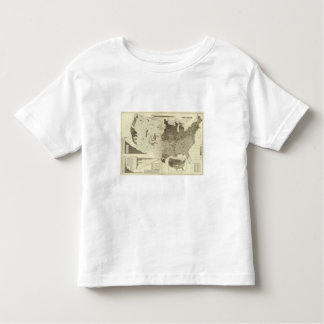 Foreign population by counties toddler T-Shirt