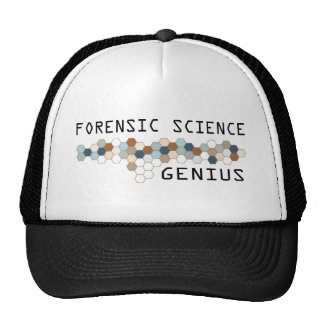 Forensic Science Genius Cap