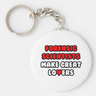 Forensic Scientists Make Great Lovers Key Chains