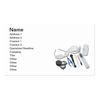 Forensic Tools Pack Of Standard Business Cards