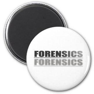 FORENSICS 6 CM ROUND MAGNET