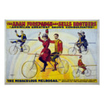 Forepaugh & Sells Brothers Vintage Circus Poster