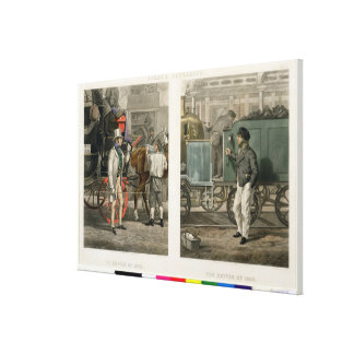 Fore's Contrasts: The Driver of 1832, The Driver o Stretched Canvas Prints