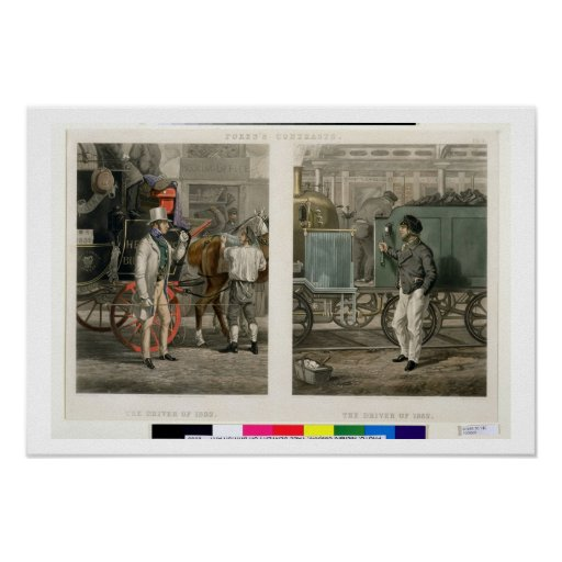 Fore's Contrasts: The Driver of 1832, The Driver o Posters
