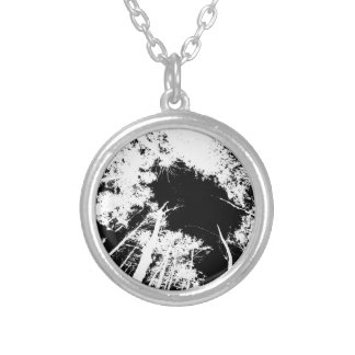 Forest above necklaces