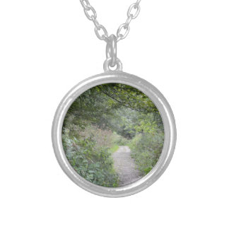 Forest and the foot path necklace