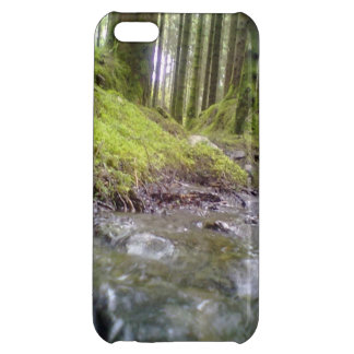 Forest and water iPhone 5C cases