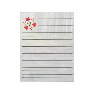 Forest and water notepad